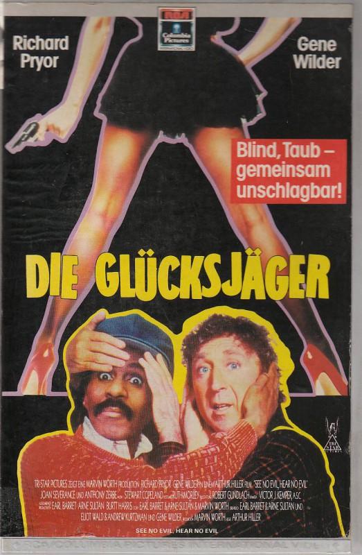 Die Glücksjäger ( Richard Pryor ,Gene Wilder) RCA 1989