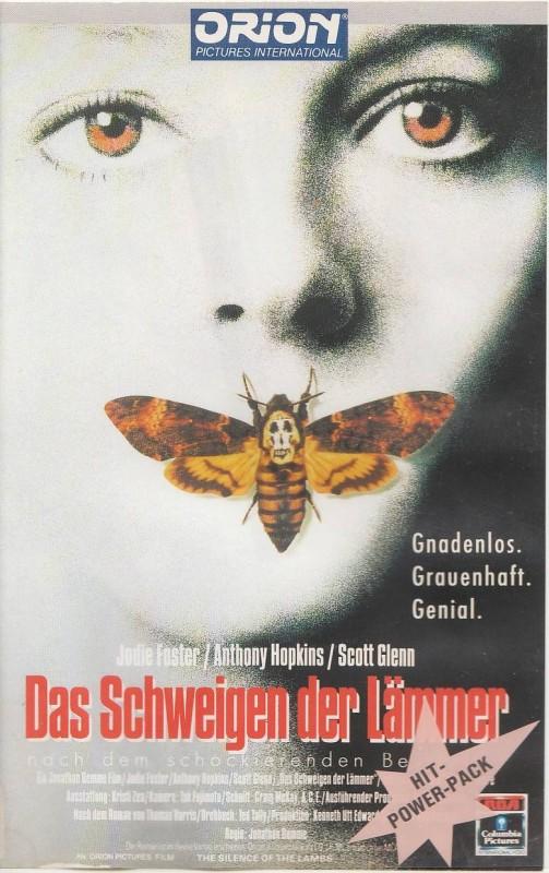 Das Schweigen der Lämmer ( Anthony Hopkins ) RCA 1991