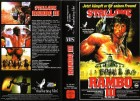 Sylvester Stallone ist JOHN RAMBO - Teil 3 (III) VHS ++Top++