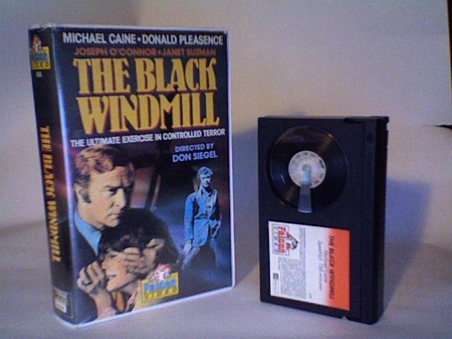 THE BLACK WINDMILL - BETAMAX - DON SIEGEL - MICHAEL CAINE