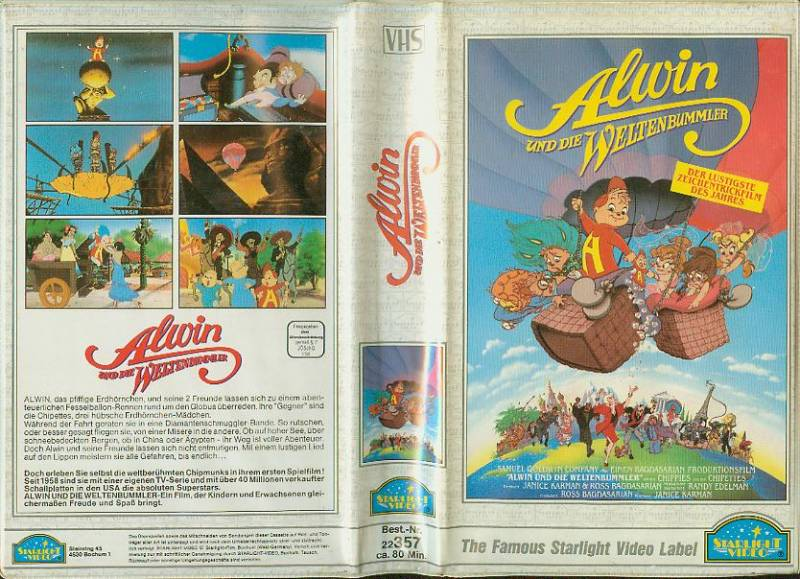 Alvin Und Die Weltenbummler Dvd