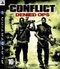 CONFLICT - DENIED OPS - UNCUT - PS3 - NEU+OVP