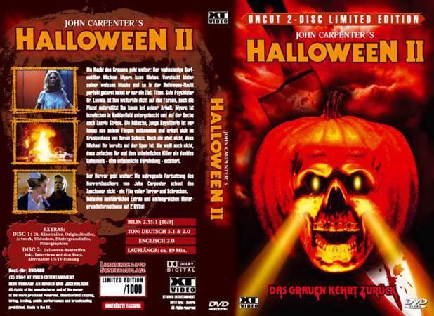 Halloween 2 Das Grauen Kehrt Zurück Xt Video Gr Hartbox