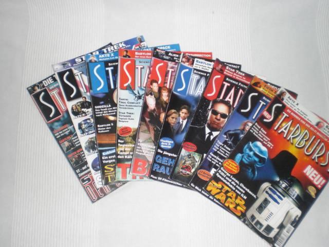 Starburst (deutsch) Nr. 1 - 8 + 11