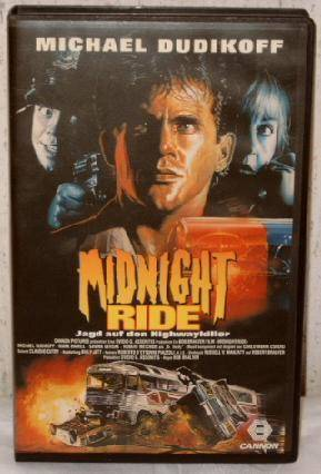 Midnight Ride (Michael Dudikoff) Großbox Cannon uncut TOP !