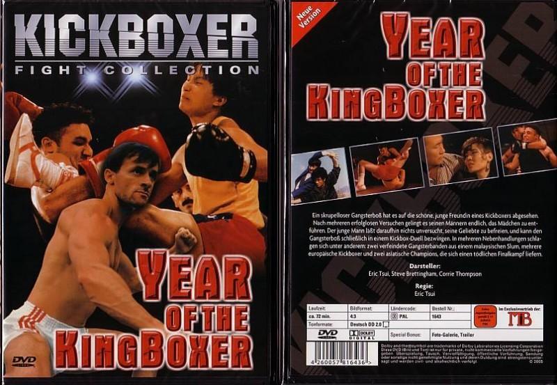 Year of the KingBoxer - neue Version - NEU - OVP - Folie