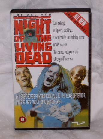 Night of the living dead (Tom Savini) UK-Import uncut Tartan