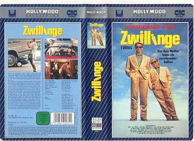 Zwillinge (mit Schwarzenegger,DeVito)