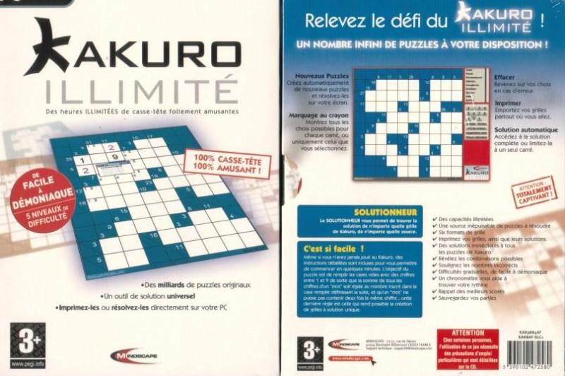 PC Kakuro - NEU -  Folie