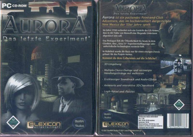 Aurora Das letzte Experiment Neu