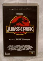 Jurassic Park (Steven Spielberg) CIC Universal uncut TOP ! !