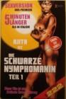 DIE SCHWARZE NYMPHORMANIN - COVER B - 222 LIMITED - OOP RAR