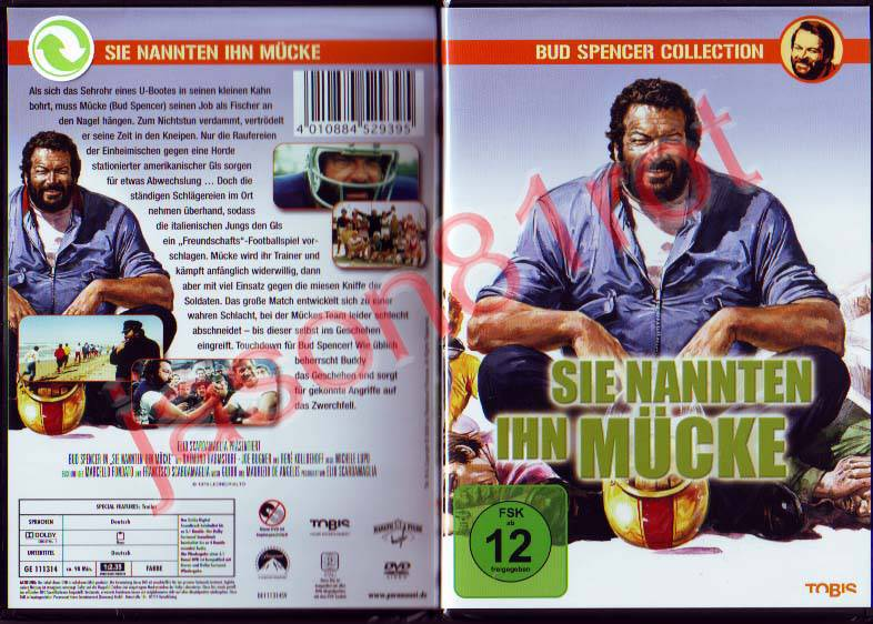 sie nannten ihn m cke bud spencer collection dvd neu. Black Bedroom Furniture Sets. Home Design Ideas
