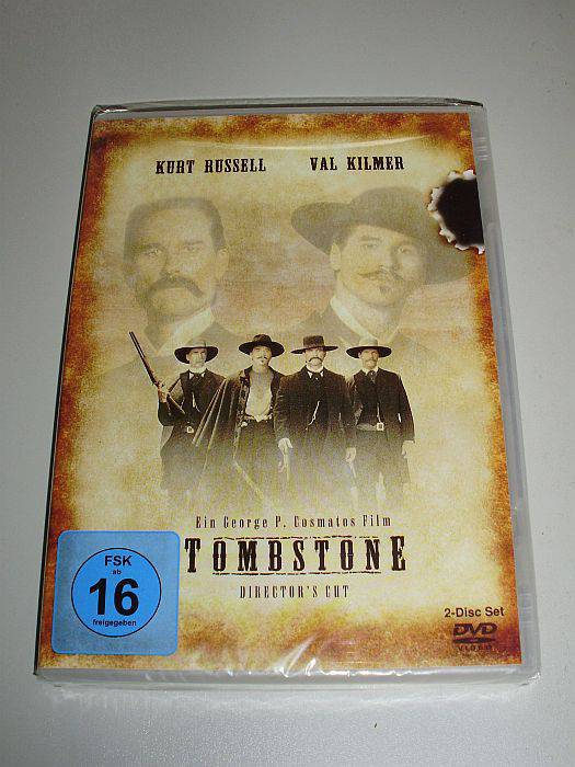 TOMBSTONE +2er-DVD SPECIAL-EDITION+ Dir. Cut - TOP-WESTERN !