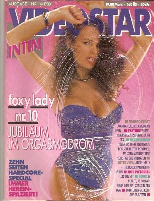 * VIDEOSTAR in**m * Nr.4 /1988 VTO HC Magazin - sehr selten
