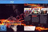 Transporter I-III - Triple Feature / Blu Ray Disc / NEU OVP
