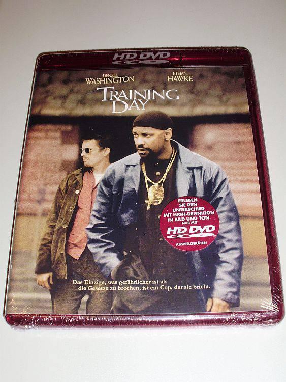 HD-DVD +Training Day+ DENZEL WASHINGTON - Neu & OVP!
