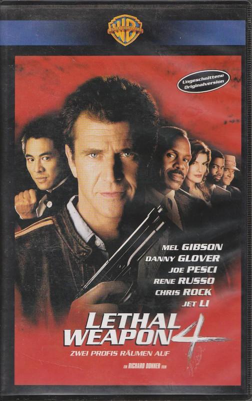 Lethal Weapon - Zwei stahlharte Profis ( Teil 4 ) Uncut