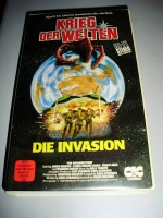 DIE INVASION +Krieg der Welten+ CIC-Rarität !