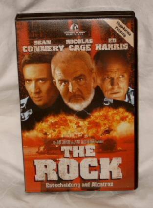 The Rock (Sean Connery, Nicolas Cage) Großbox uncut TOP ! !