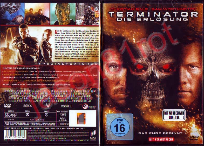 Terminator 4 - Die Erlösung / DVD NEU OVP uncut