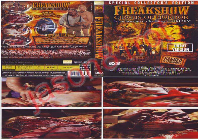 Freakshow - Circus of Horror - Special Collectors Edition