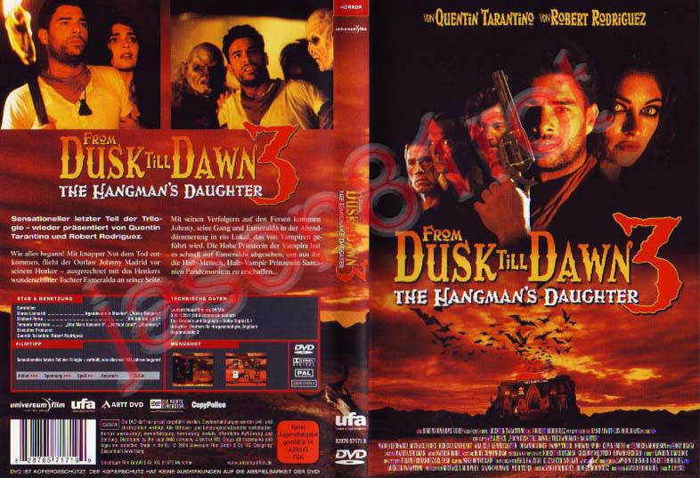 From Dusk Till Dawn 3 - The Hangmans Daughter / DVD uncut