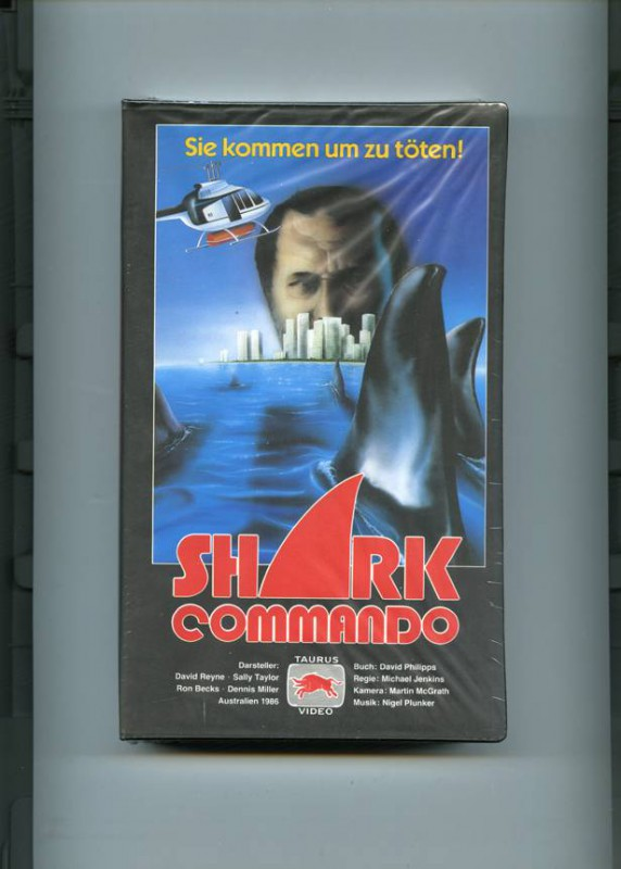 Shark Commando, dt., uncut, VHS