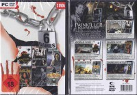 6 Games alles FSK 18 Neuware Painkiller + Addon