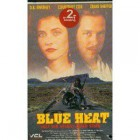 VHS Blue Heat (VCL) Courtney Cox Deutsch Keine DVD