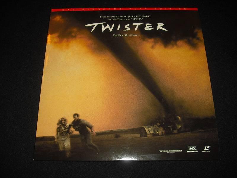 Twister LD US Laserdisc NTSC CAV Widescreen Edition