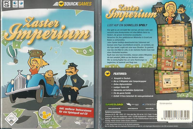 PC Zaster Imperium   (4400, NEU, OVP)