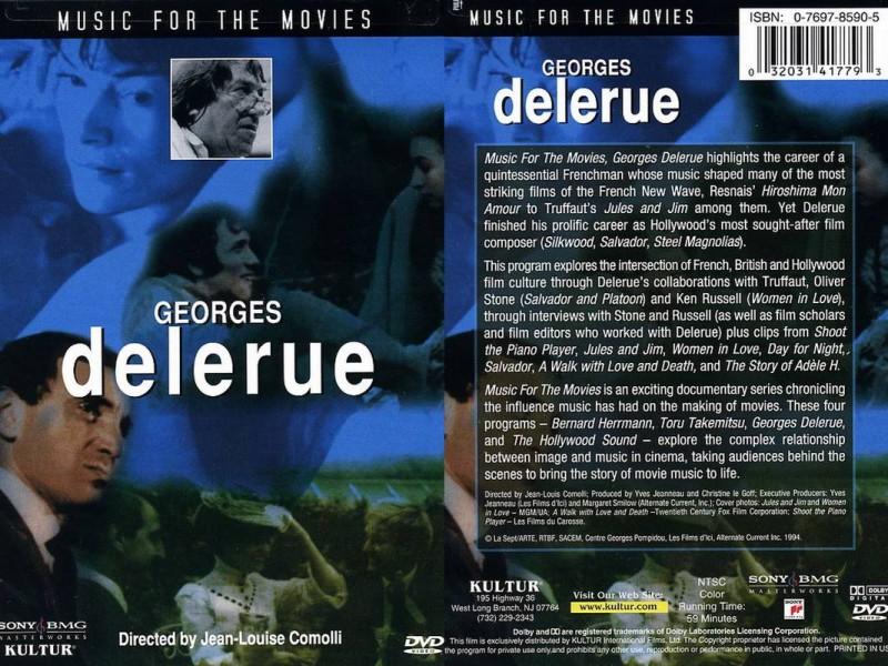 GEORGES DELERUE / MUSIC FOR THE MOVIES