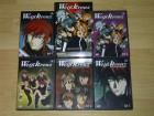 Weiß Kreuz Vol. 1 - 5, 5 DVDs, Weißkreuz, Anime Serie, Uncut