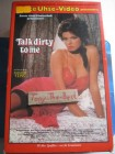 Beate Uhse Pappe - Talk Dirty to me - VIDEO 2000 Rarität