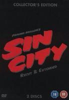 2 DVDs IM STEELBOOK: SIN CITY-RECUT & EXTENDED, NEU !