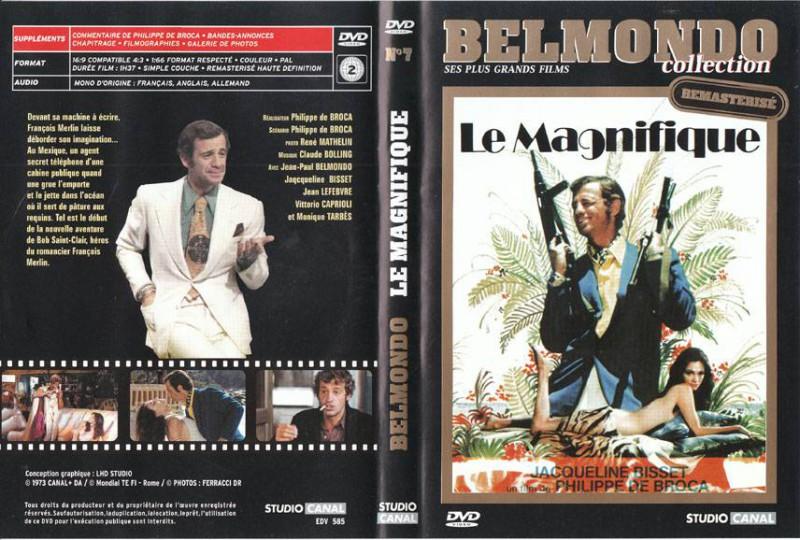 LE MAGNIFIQUE - ICH BIN DER GRÖSSTE Belmondo Import DEUTSCH