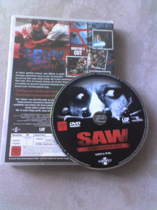 SAW - Directors Cut DVD