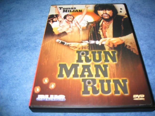 Run Man Run Thomas Milan US DVD UNCUT