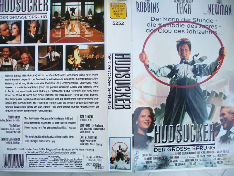 Hudsucker - Der Grosse Sprung ... Tim Robbins, Paul Newman