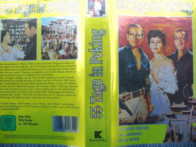 55 Tage in Peking ...  Charlton Heston, Ava Gardner