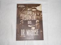 Das Testament des Dr. Mabuse (IFB Nr. 1237) 4 Seiten