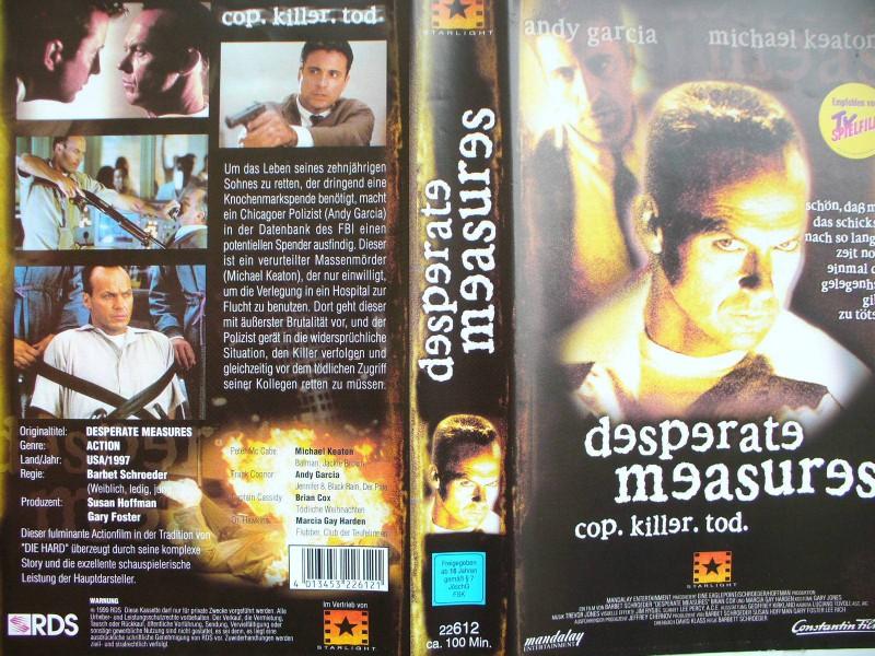 Desperate Measures ...  Andy Garcia, Michael Keaton