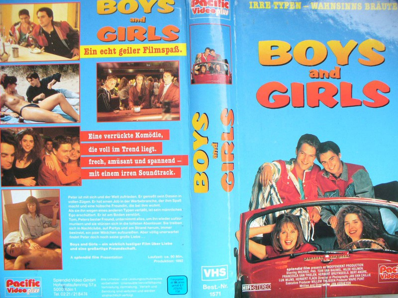 Boys and Girls ... Michael Pas, Tom van Bauwel..  Hartcover