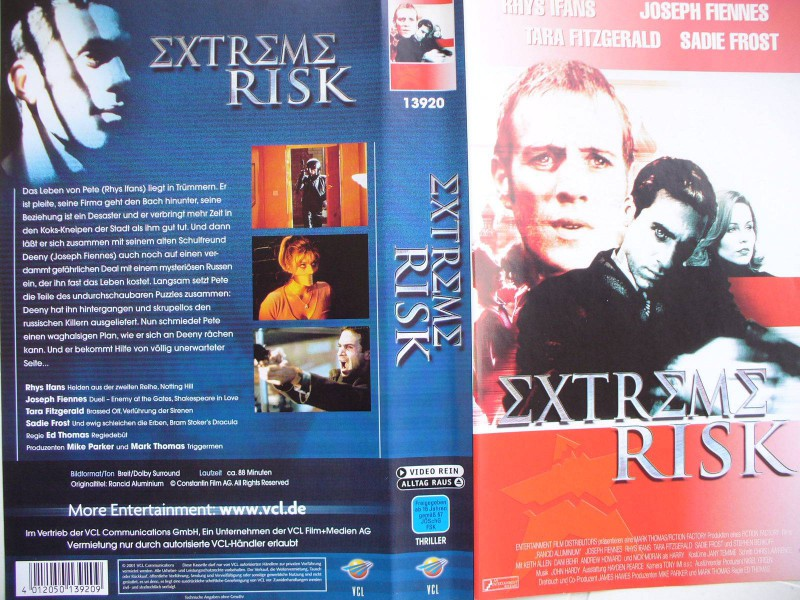 Extreme Risk ...  Rhys Ifans, Joseph Fiennes, Sadie Frost