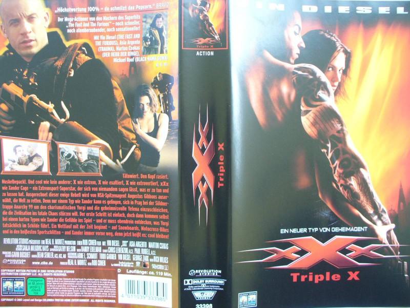 xXx - Triple X  ...  Vin Diesel, Asia Argento