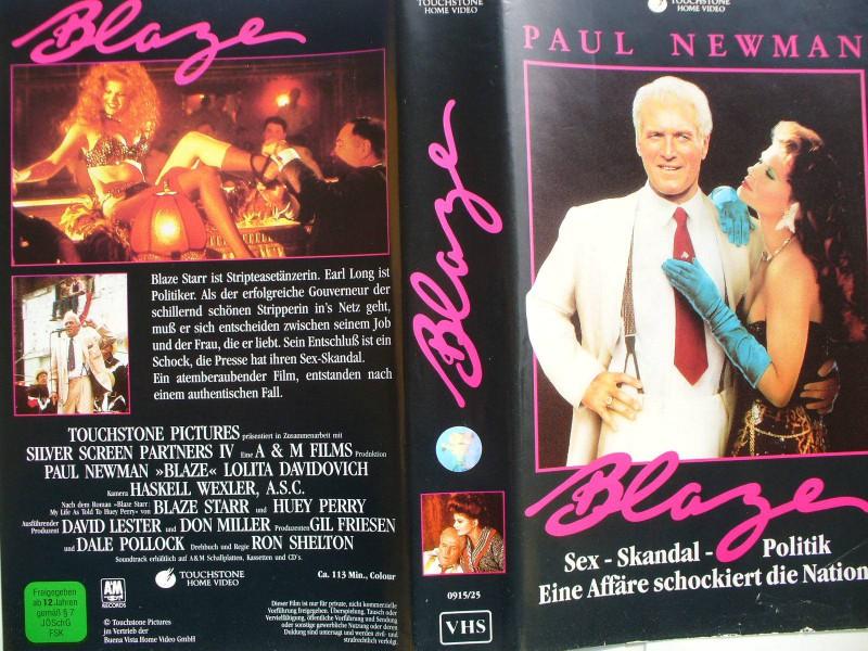 Blaze ...  Paul Newman, Lolita Davidovich
