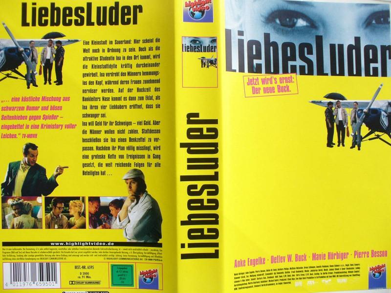 Liebesluder ...  Anke Engelke, Detlev W. Buck, Pierre Besson
