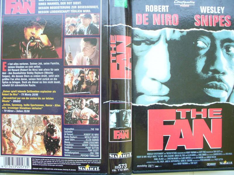 The Fan ...  Wesley Snipes, Robert De Niro, Ellen Barkin