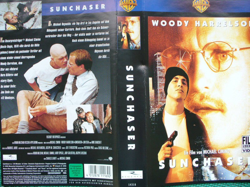 Sunchaser ...  Woody Harrelsen, Jon Seda, Anne Bancroft
